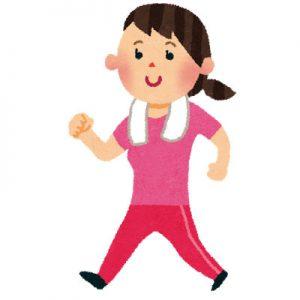 free-illustration-walking-woman-irasutoya
